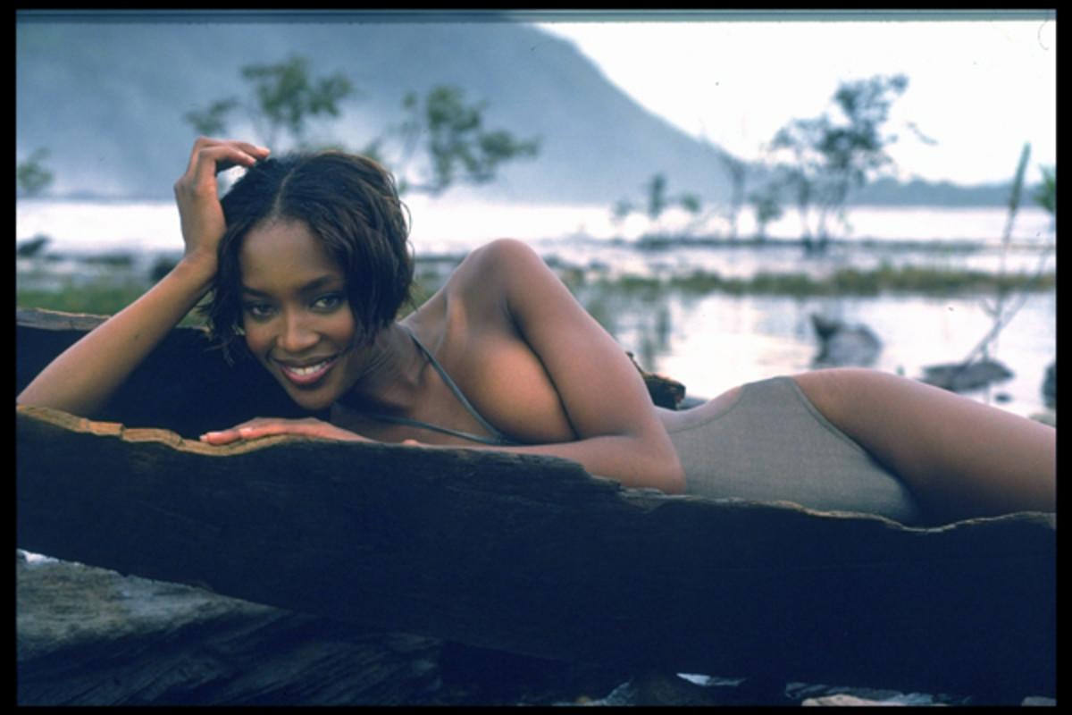 Naomi Campbell in Venezuela, Swimsuit 1997 :: Sante D'Orazio/SI