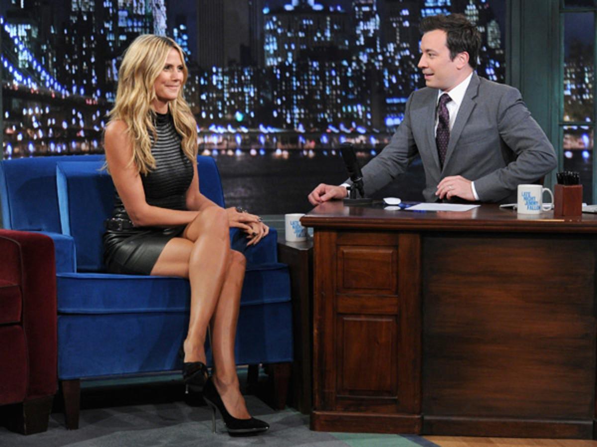 Heidi Klum and Jimmy Fallon :: Jamie McCarthy/Getty Images