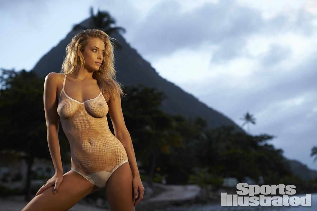 Hannah Ferguson 2014 Swimsuit body paint 25