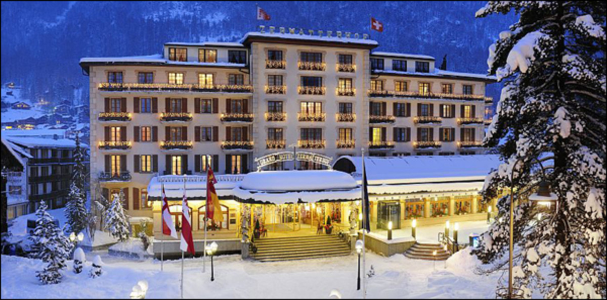 Courtesy of the Grand Hotel Zermatterhof