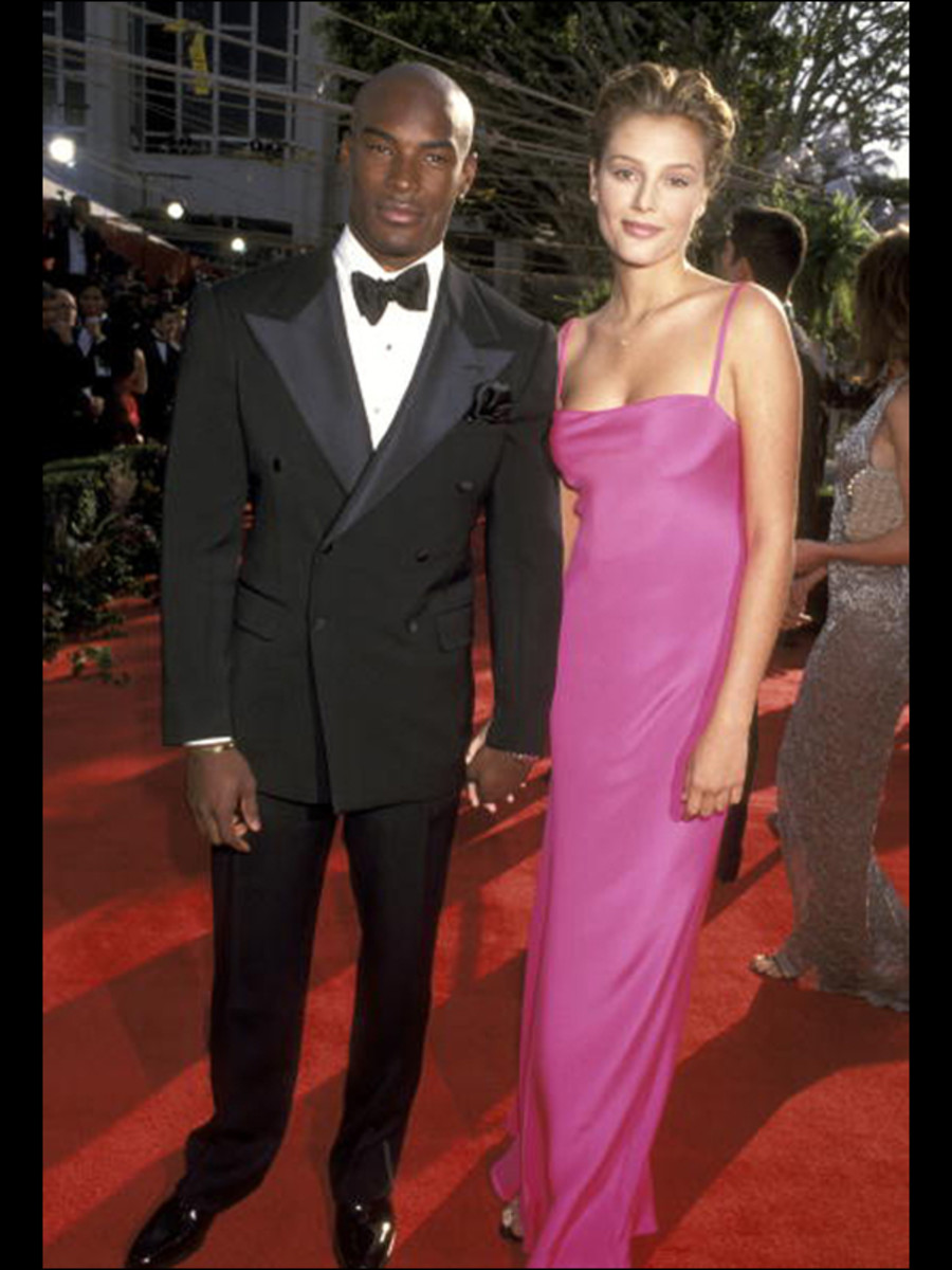 1996, with Tyson Beckford (!!!) :: Ron Galella Collection
