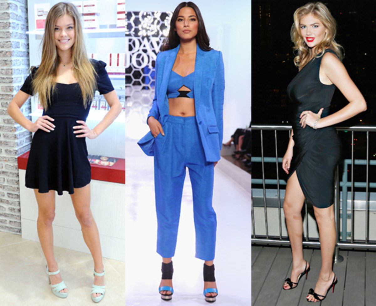 Nina Agdal, Jess Gomes and Kate Upton :: Getty Images