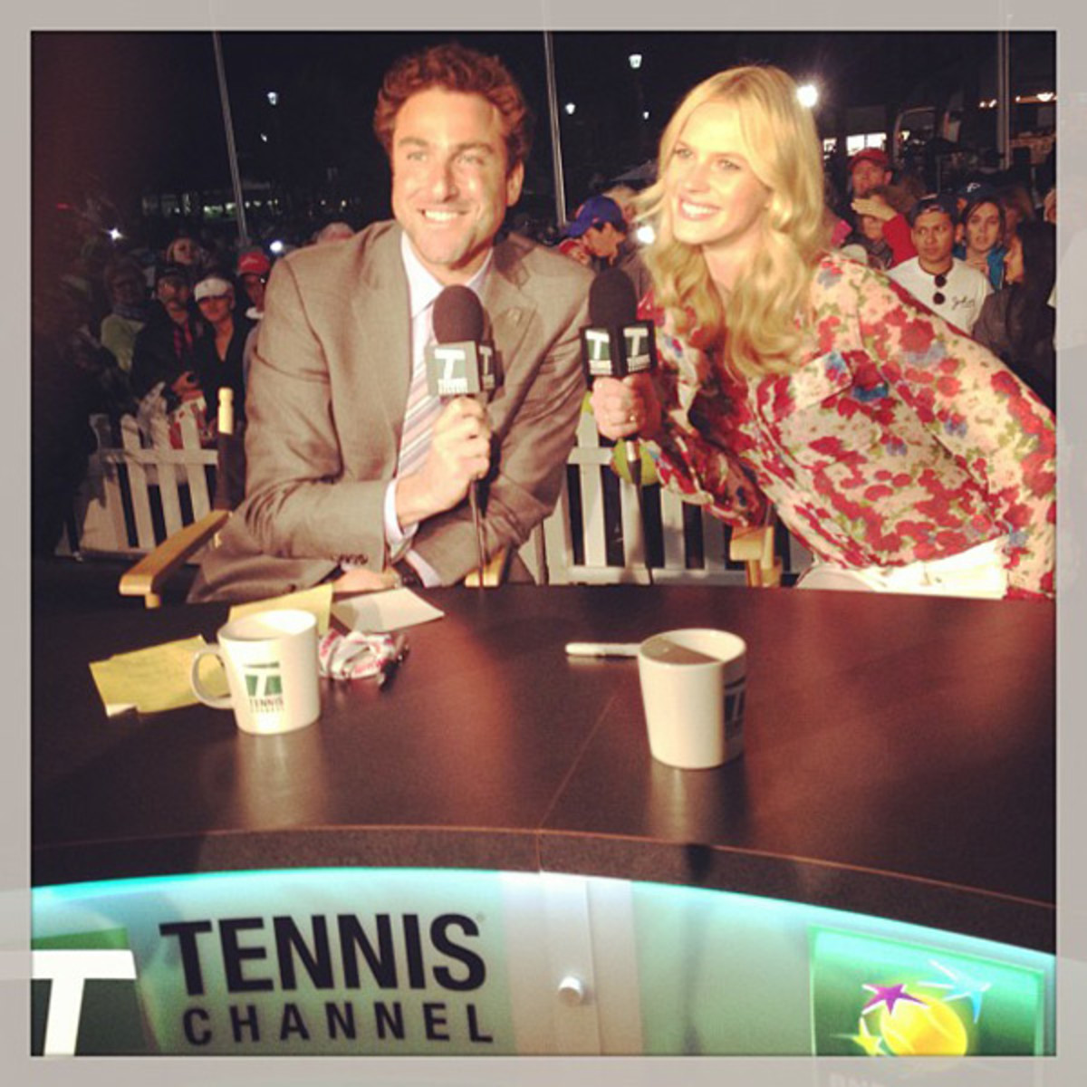 Justin Gimelstob and Anne V :: @annev_official