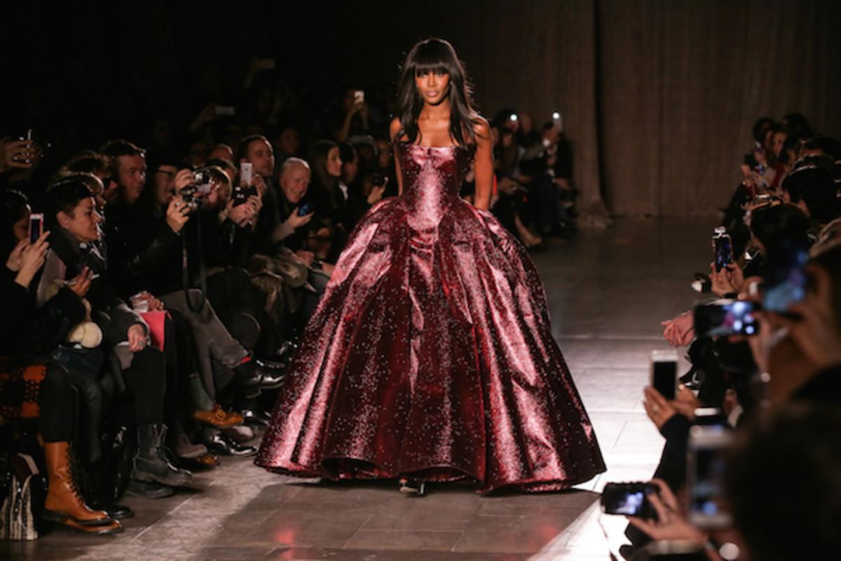 naomi campbell new york fashion week