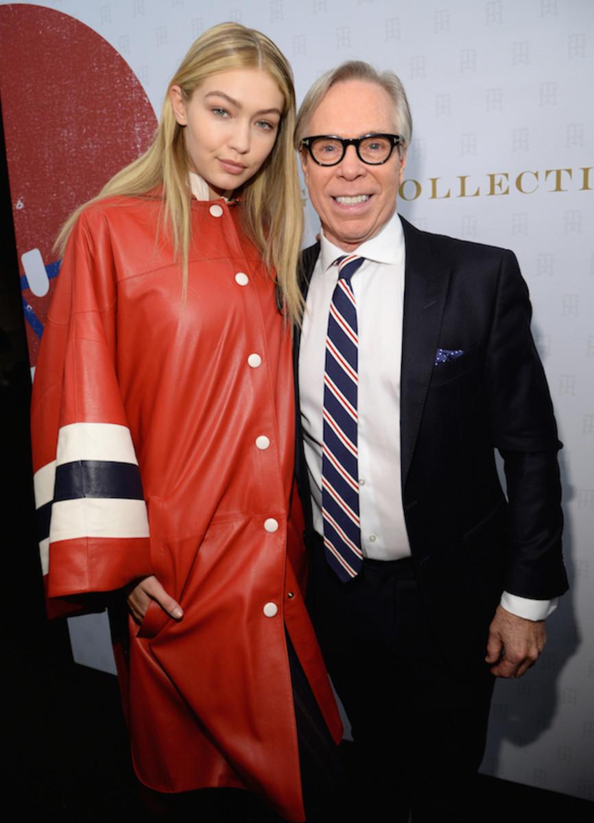 gigi hadid tommy hilfiger new york fashion week