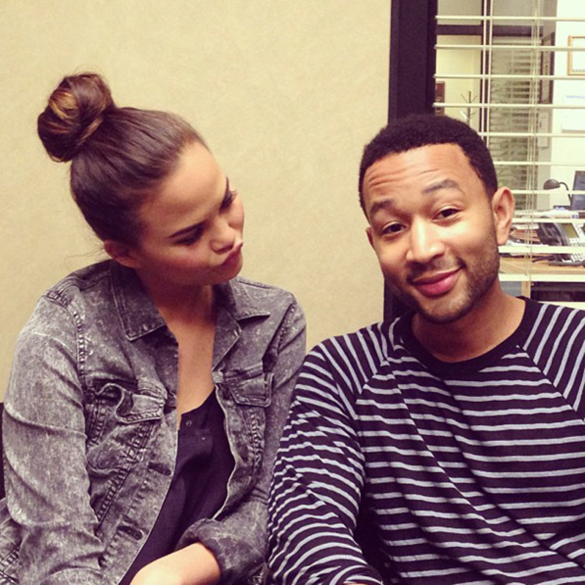 Chrissy Teigen and John Legend :: @chrissyteigen