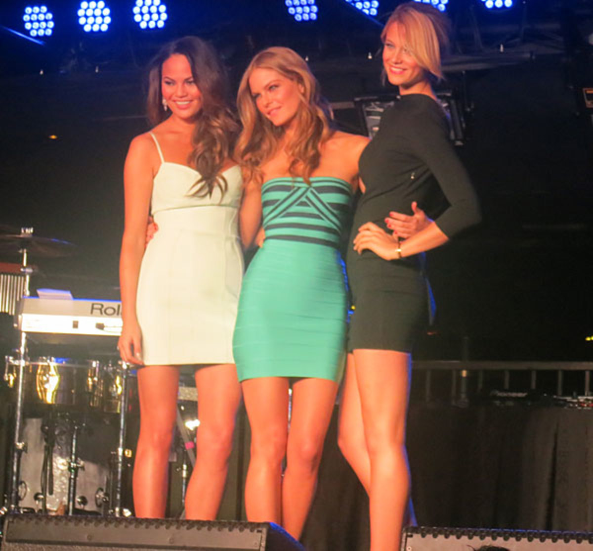 Chrissy Teigen, Jessica Perez and Kate Bock :: Andy Gray/SI