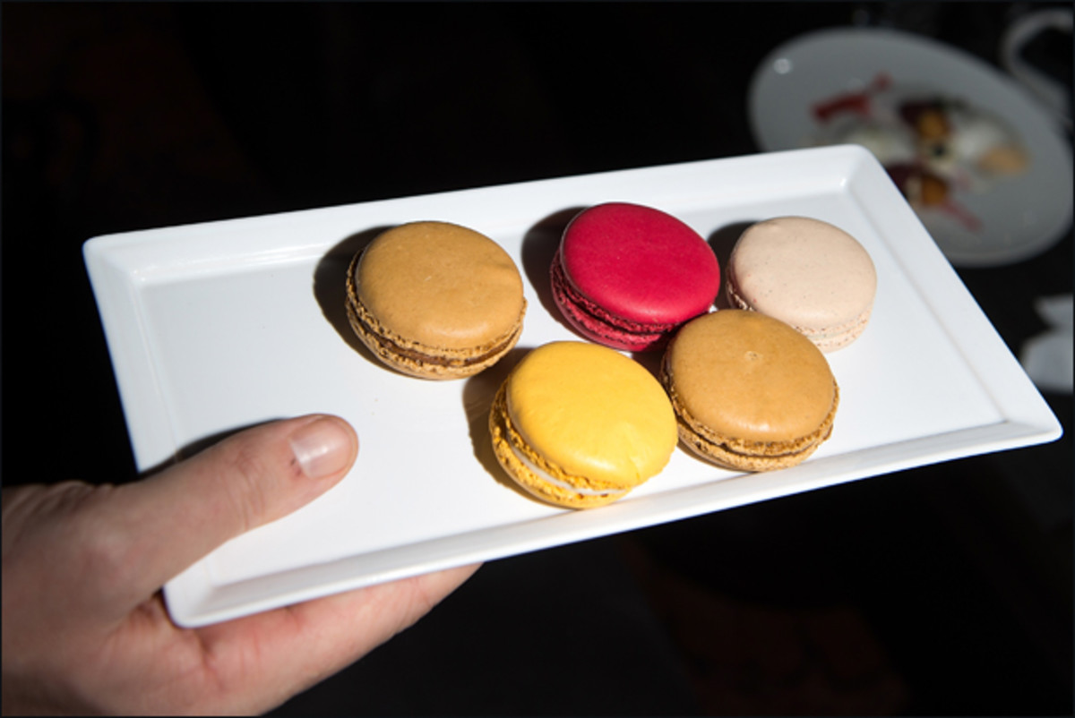 If these macarons didn't get consumed by the fashion people I will be VERY angry :: Getty Images