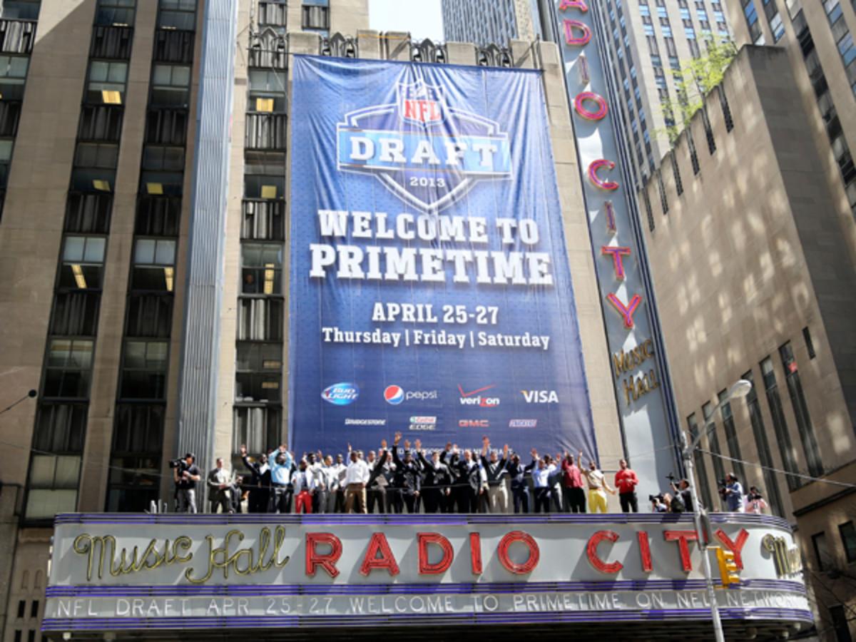 NFL Draft :: Michael LeBrecht/SI