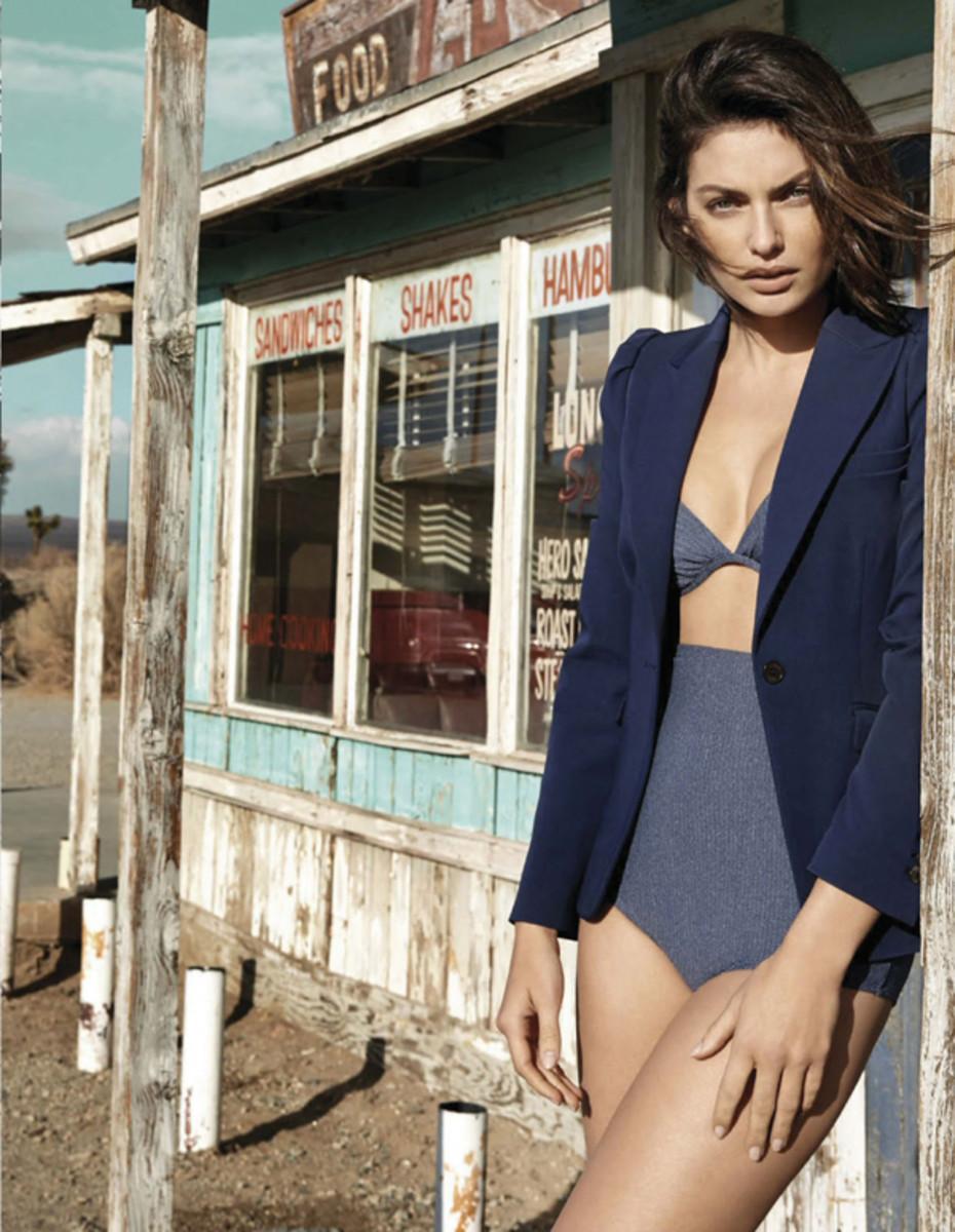 Alyssa Miller :: Yu Tsai for Vogue Mexico, May 2014