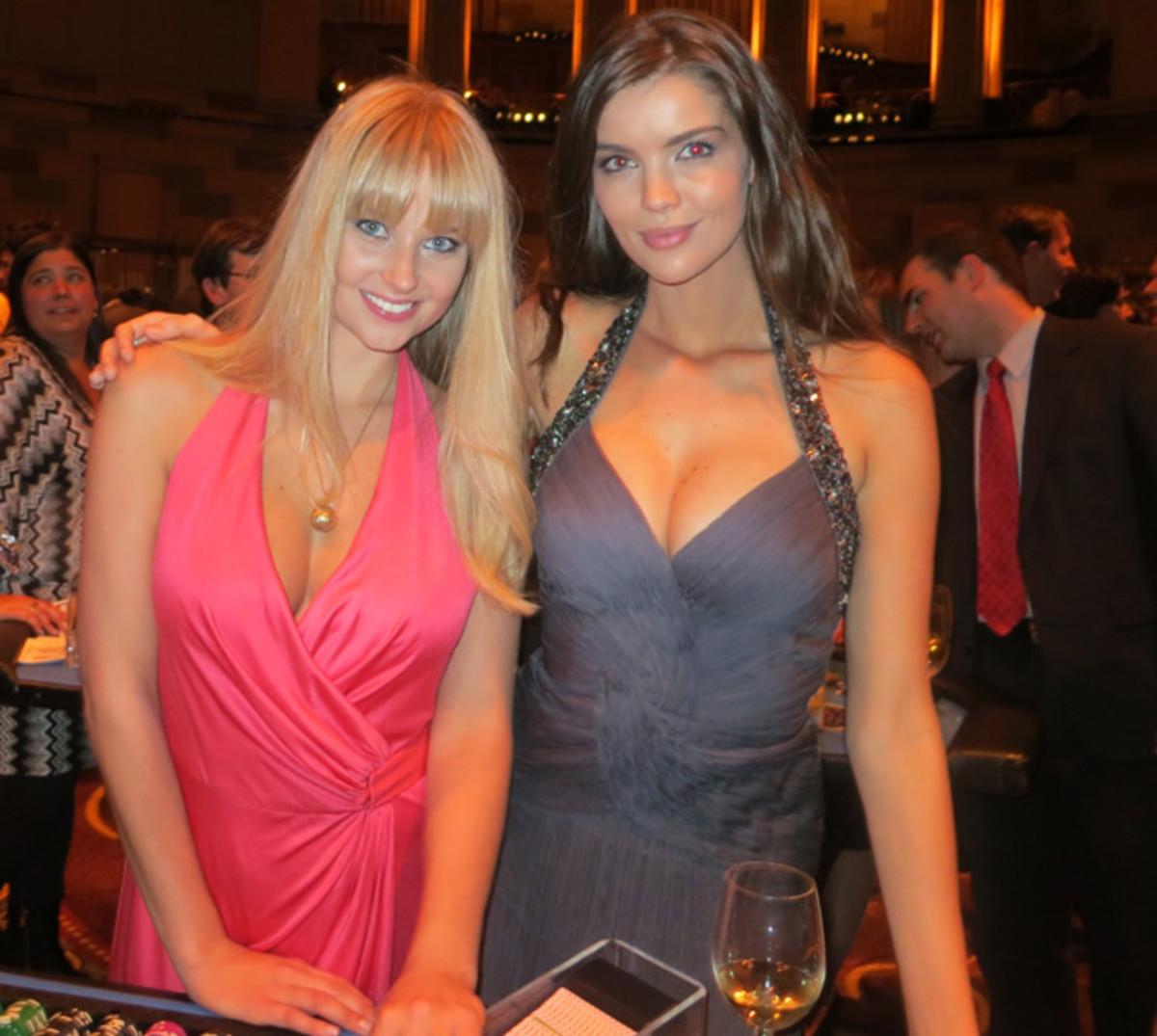 Genevieve Morton and Natasha Barnard
