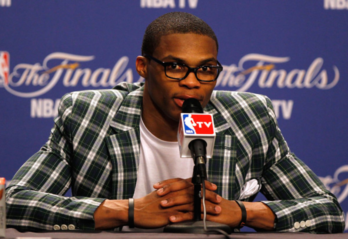 Russell Westbrook :: Mike Ehrmann/Getty Images