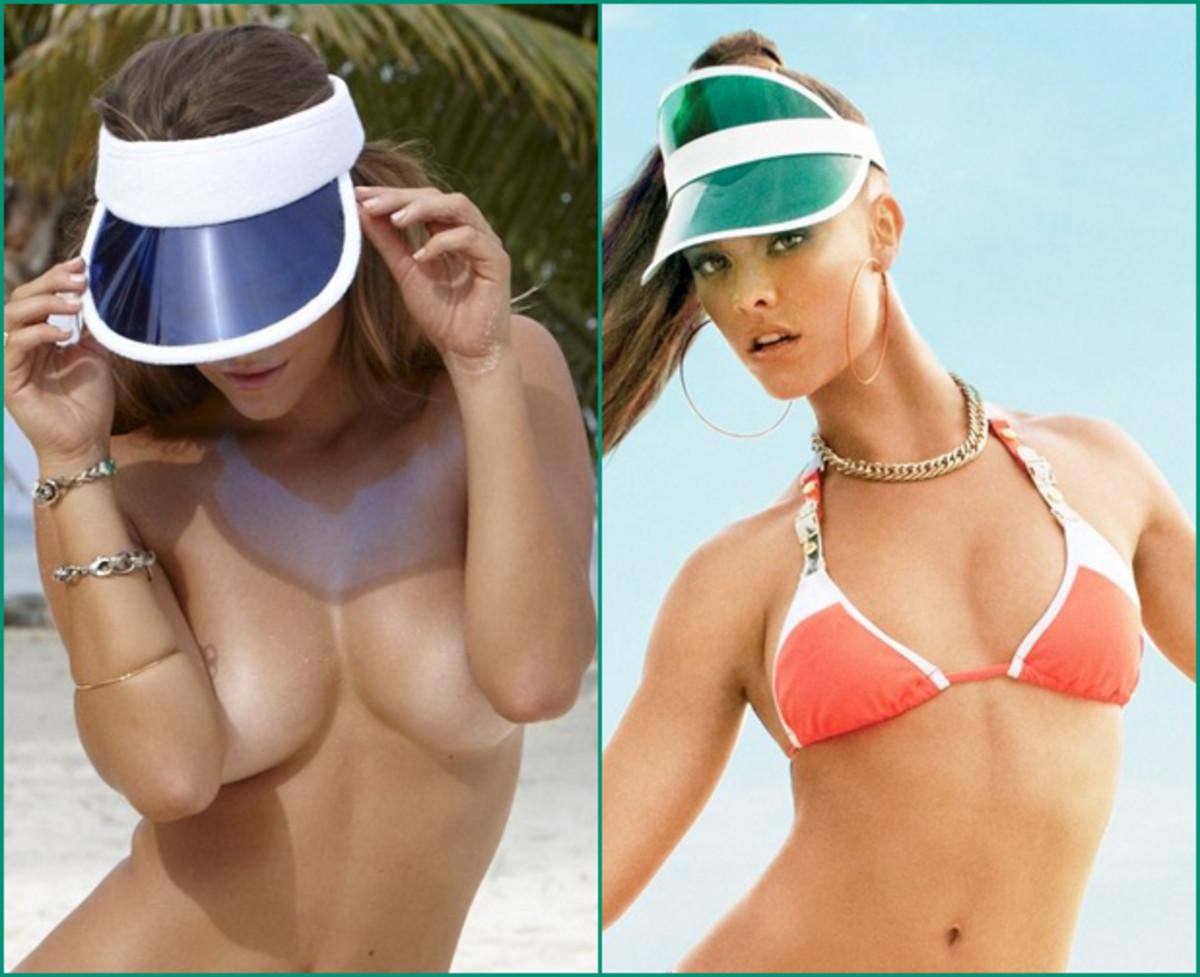 Nina Agdal, 2012 :: James Macari/SI  |  Nina Agdal, 2013 :: Beach Bunny Swimwear