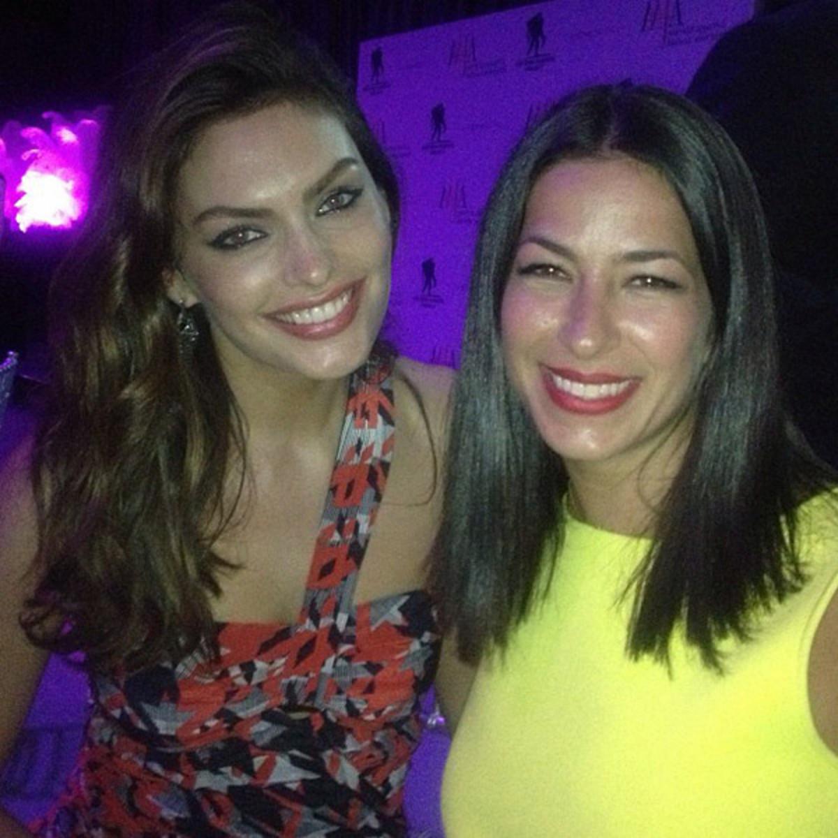 Alyssa Miller and Rebecca Minkoff :: @luvalyssamiller
