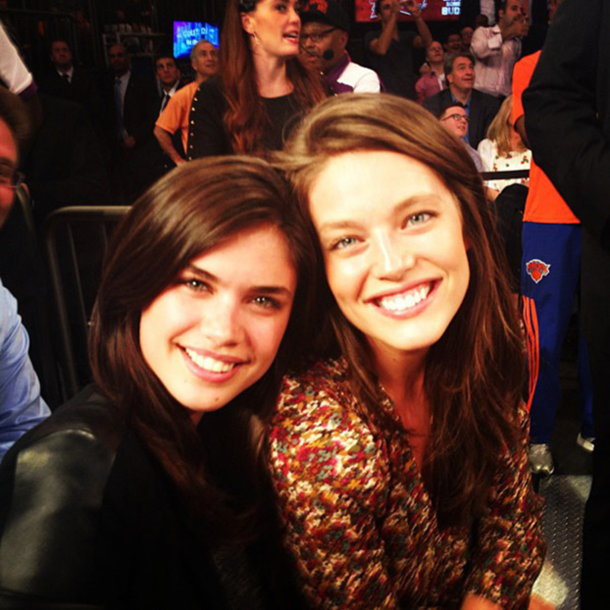 Emily DiDonato and Sara Sampaio :: @emilydidonato1