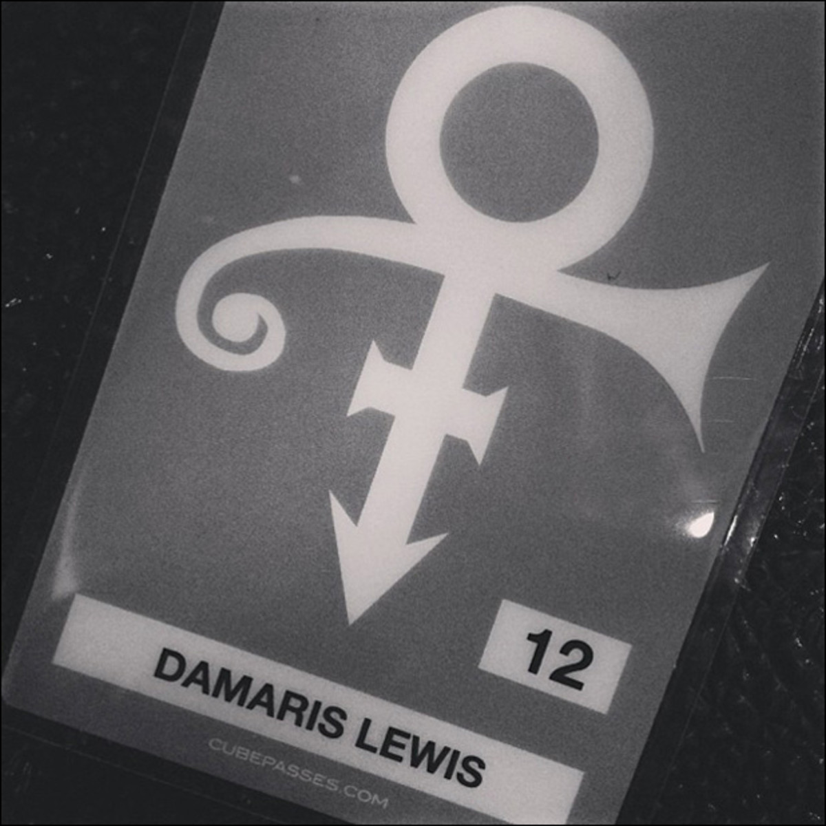 12/27, 5 pm: Ready to rock out with Prince and my purple family tonight. Mohegan Sun, let's get funky.