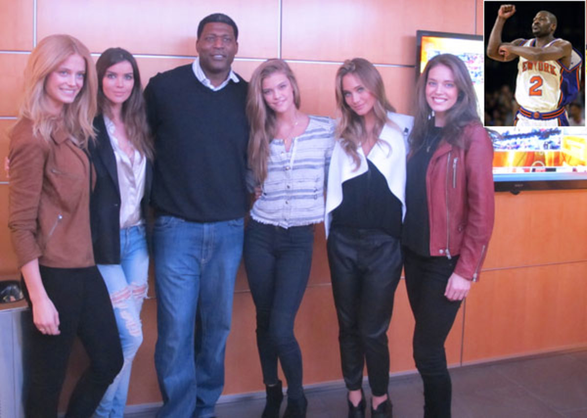 SI Swimsuit Models and Larry Johnson :: MJ Day/SI
