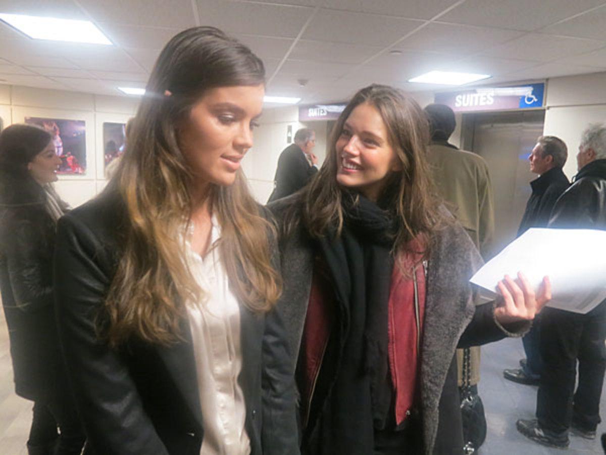 Natasha Barnard and Emily DiDonato :: Andy Gray/SI