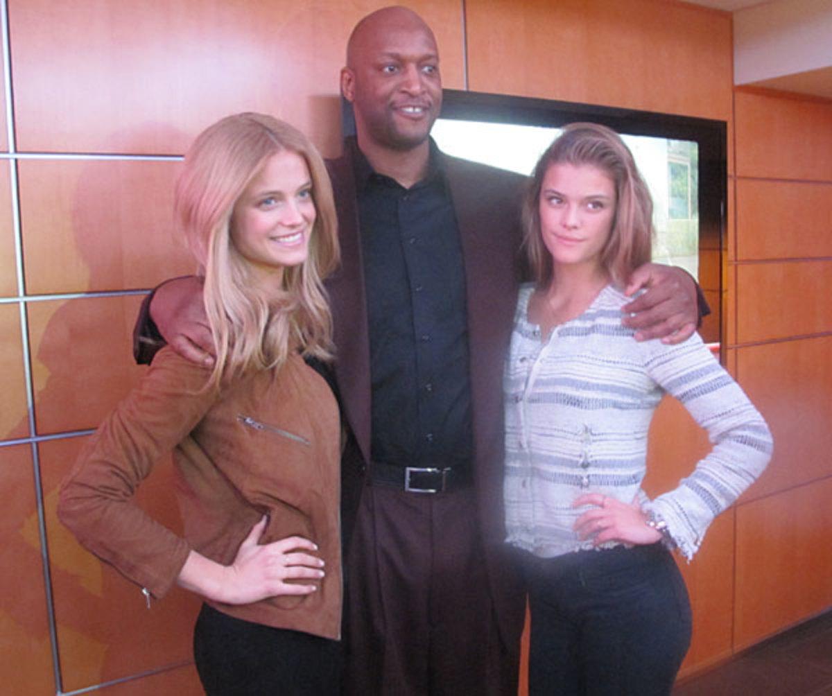 Kate Bock, John Wallace and Nina Agdal :: MJ Day/SI