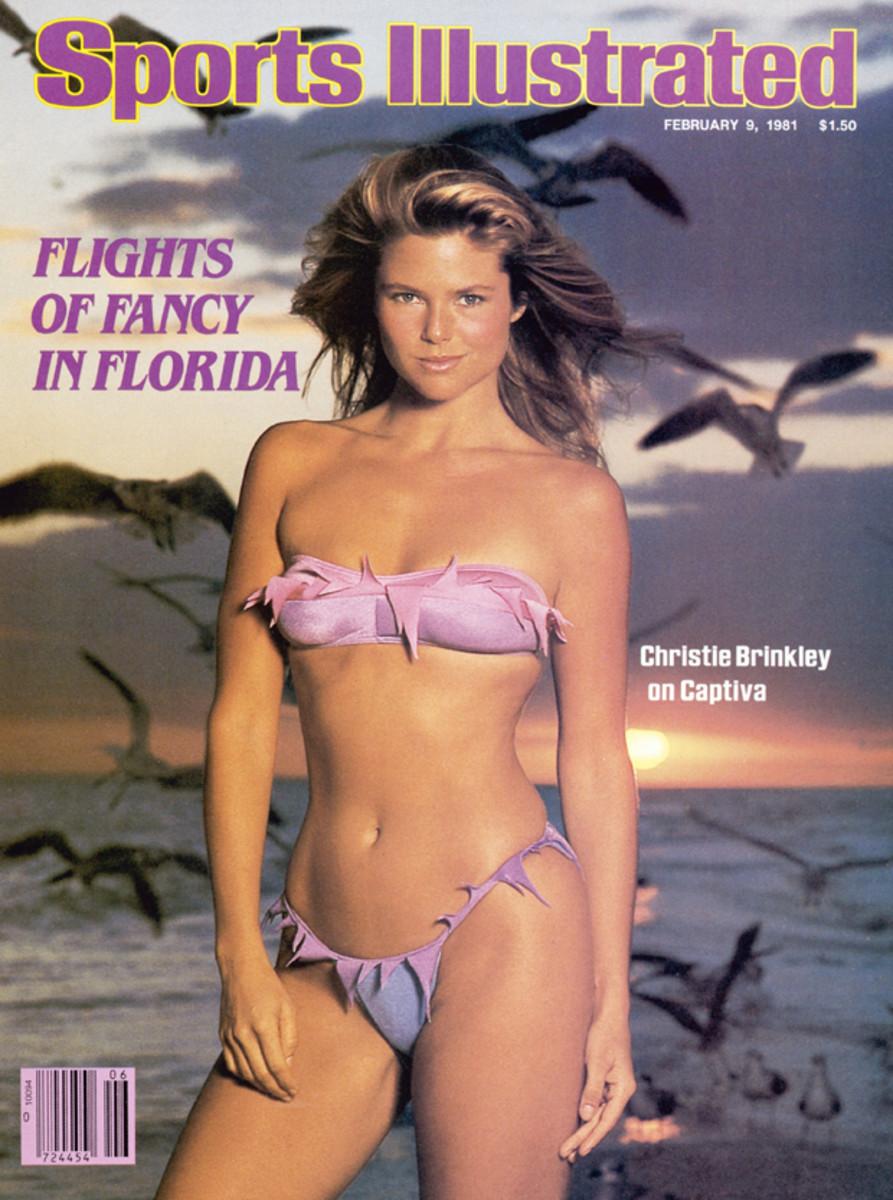 Christie Brinkley on Captiva Island, 1981