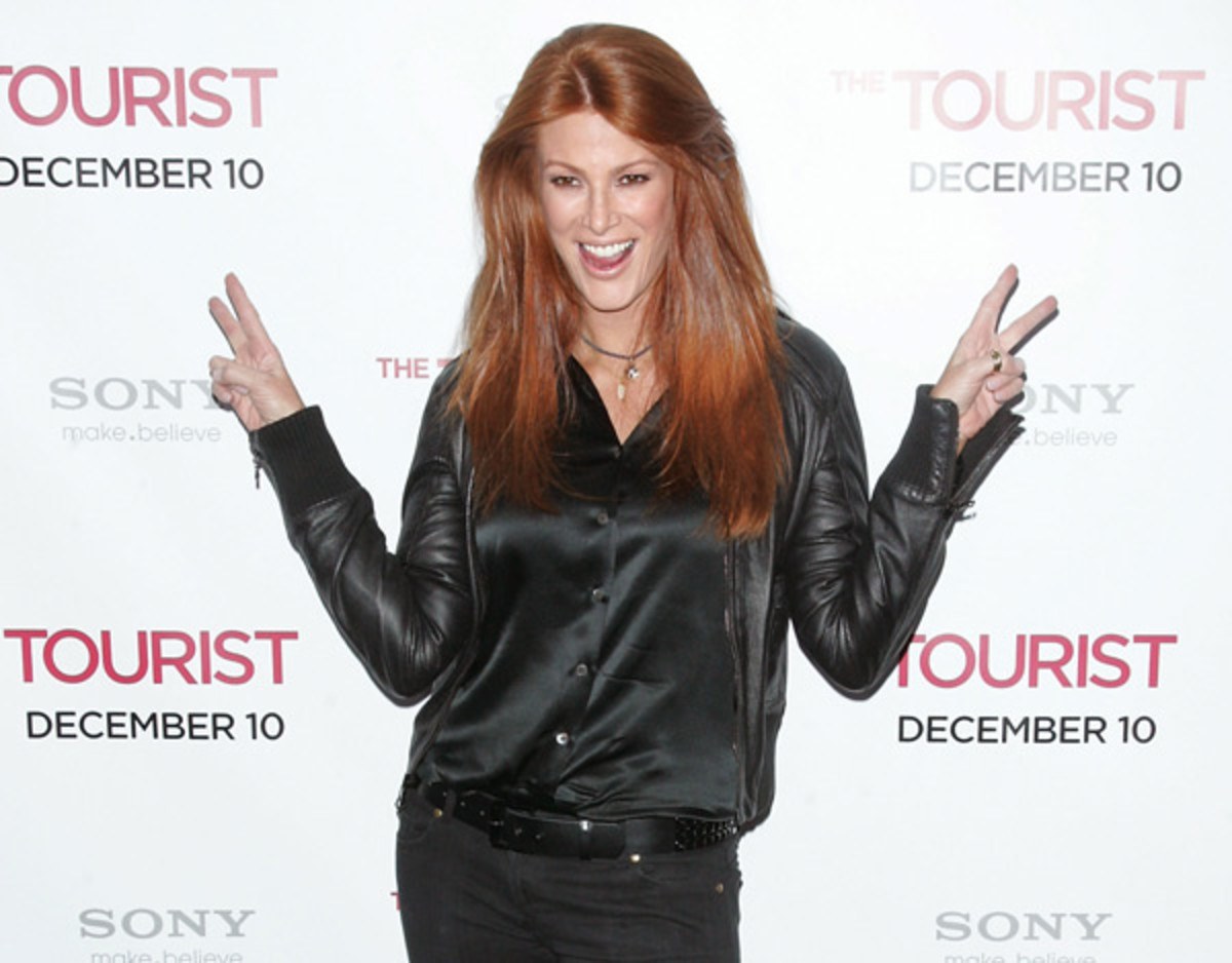 Angie Everhart ::  Jim Spellman/Getty Images