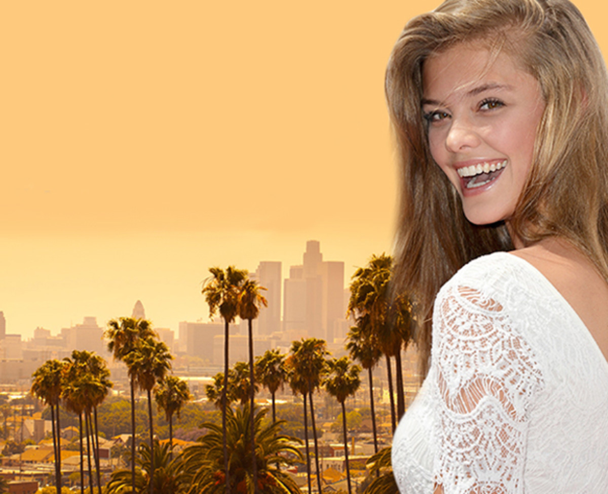 Nina Agdal shows you how to do Los Angeles :: modelinia.com