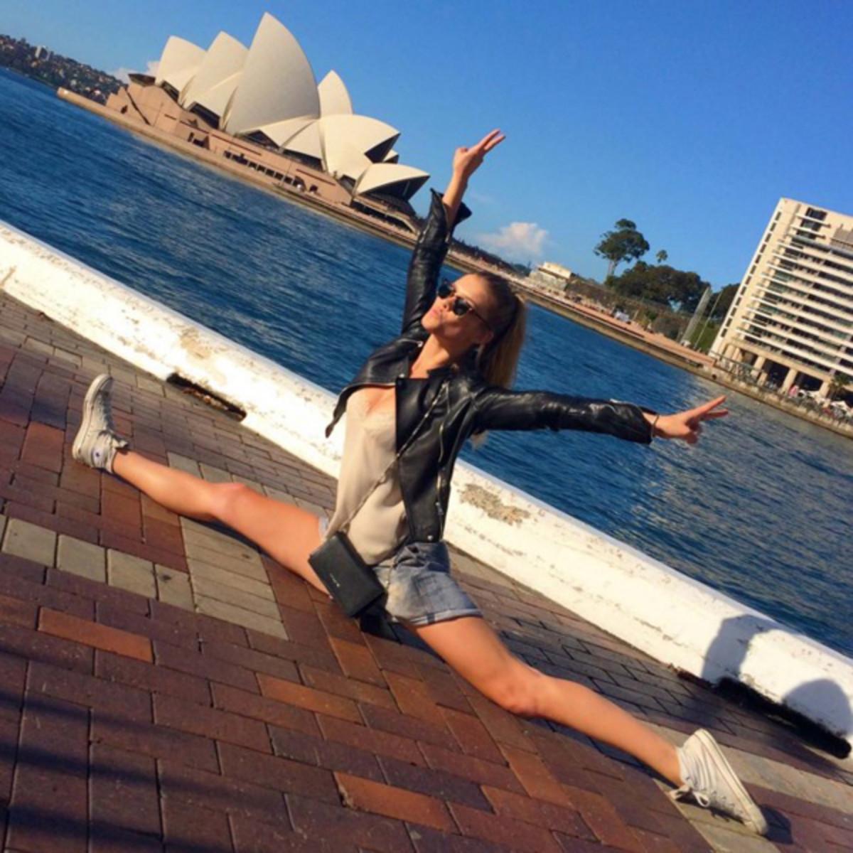 Nina Agdal in Sydney :: vogue.com.au