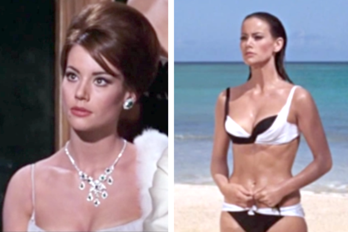 Domino Derval (Claudine Auger) :: Thunderball