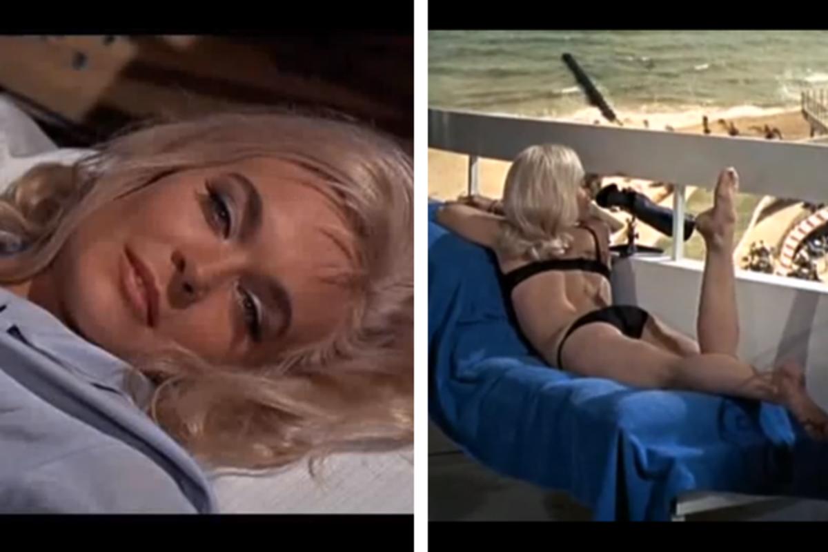 Jill Masterson (Shirley Eaton) :: Goldfinger