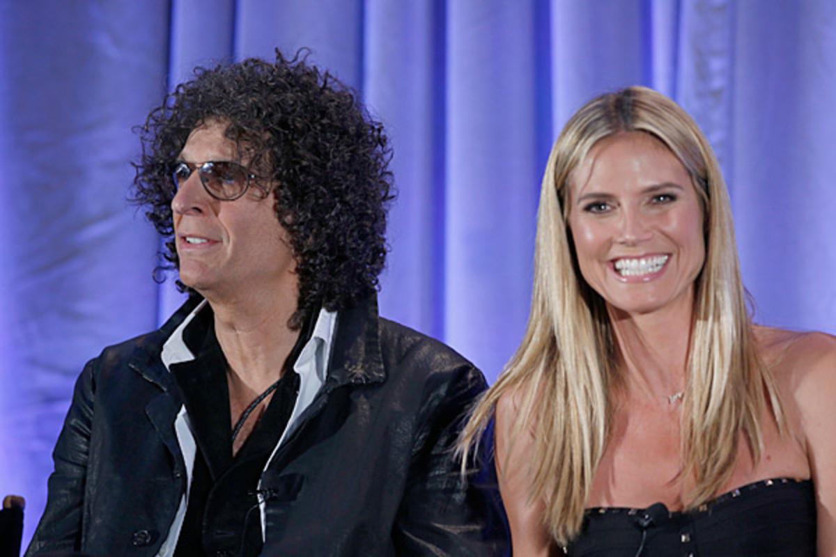 Howard Stern and Heidi Klum :: Getty Images