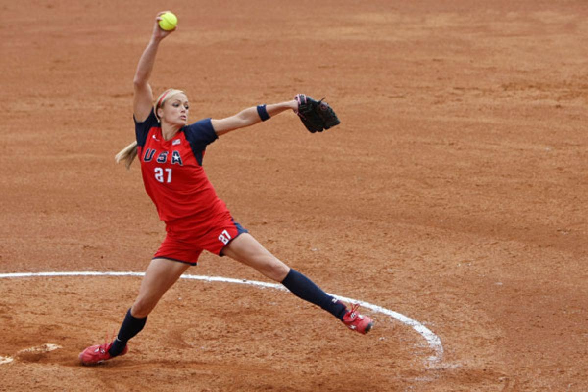 Jennie Finch :: Al Bello/Getty Images