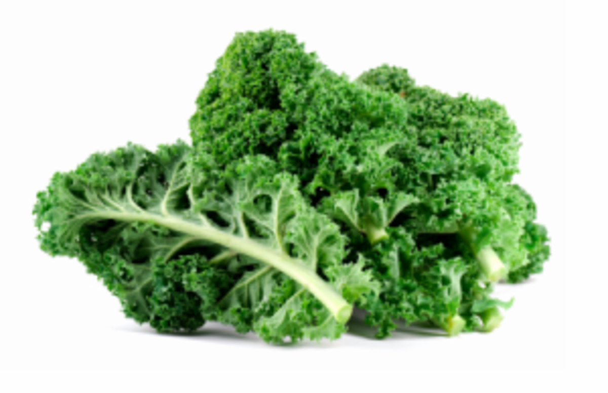 Kale is the go to super food of the super models.