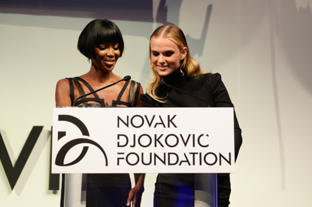 Naomi Campbell and Anne V :: Dimitrios Kambouris/Getty Images