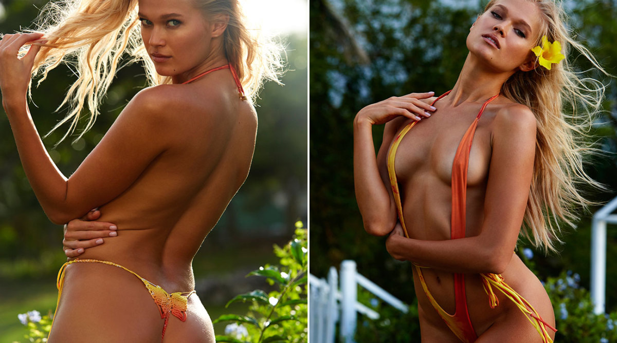 Vita Sidorkina finds new uses for a swimsuit