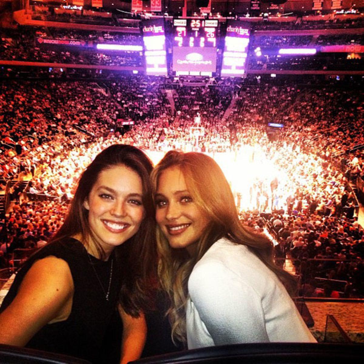 Emily DiDonato and Hannah Davis :: @emilydidonato1