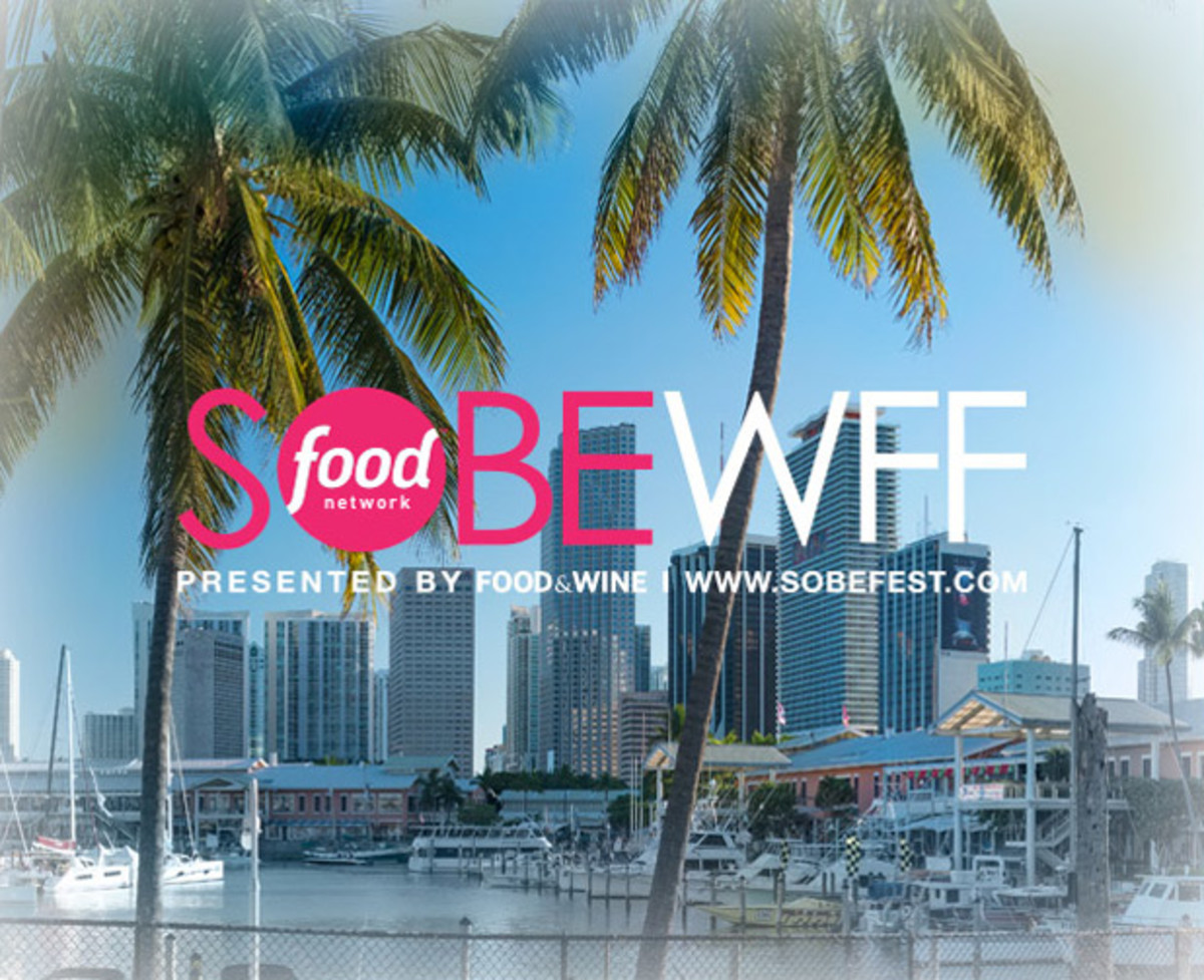 Courtesy of SOBEWFF (logo); Travelpix Ltd (Miami)