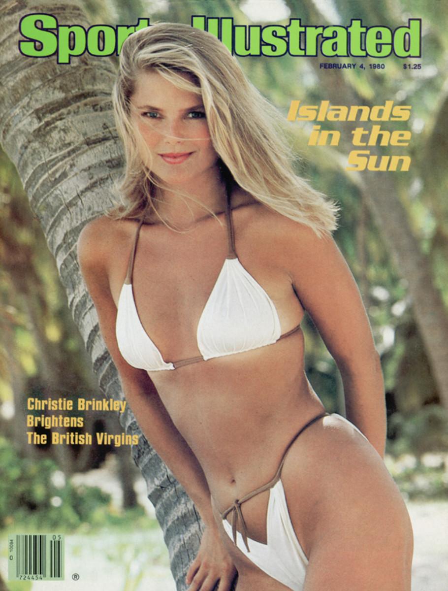 Christie Brinkley in the British Virgin Islands, 1980