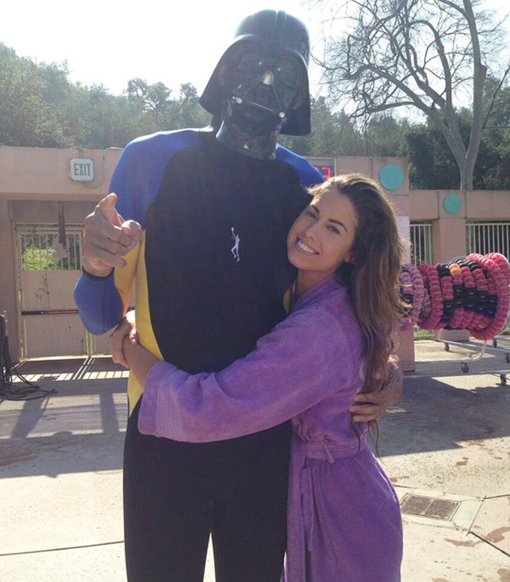Kareem Abdul-Jabbar and Katherine Webb :: @kaj33