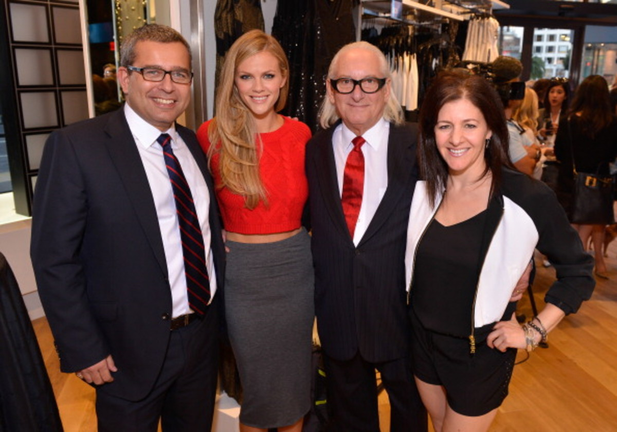 EXPRESS Union Square Grand Opening In San Francisco Hosted By Brooklyn Decker