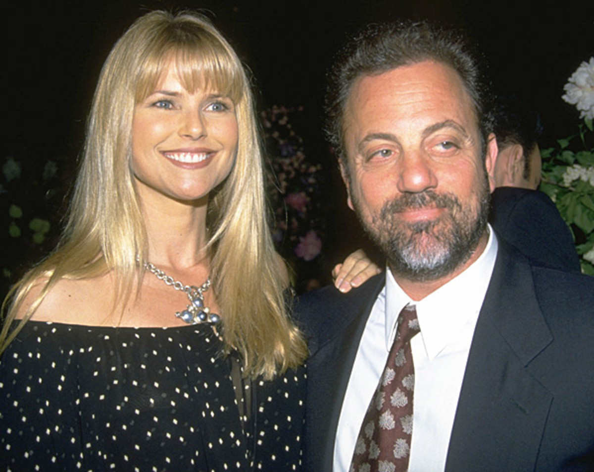 Christie Brinkley and Billy Joel :: Diane Freed/Getty Images