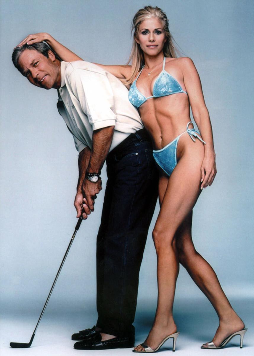 Ben and Julie Crenshaw ::  Mark Abrahams/SI