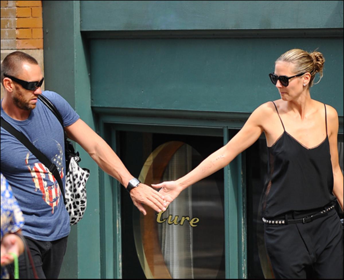 Martin Kirsten and Heidi Klum :: Raymond Hall/FilmMagic