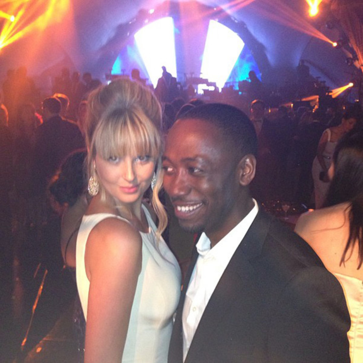 Genevieve Morton and Lamorne Morris :: @genevievemorton