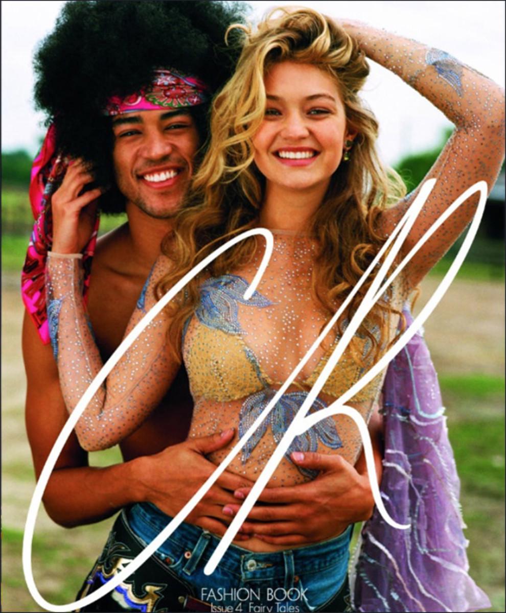 Gigi Hadid with Shane C :: Bruce Weber for CR Fashion Book