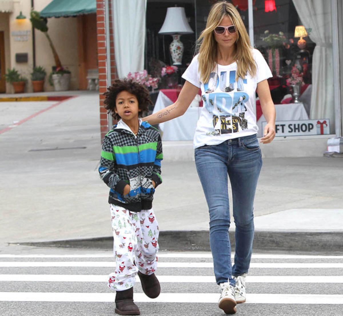 Heidi Klum and Henry Samuel :: SMXRF/Star Max/Getty Images