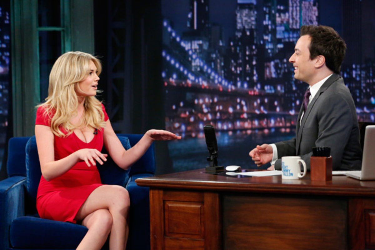 Kate Upton and Jimmy Fallon :: NBCUniversal/Getty Images