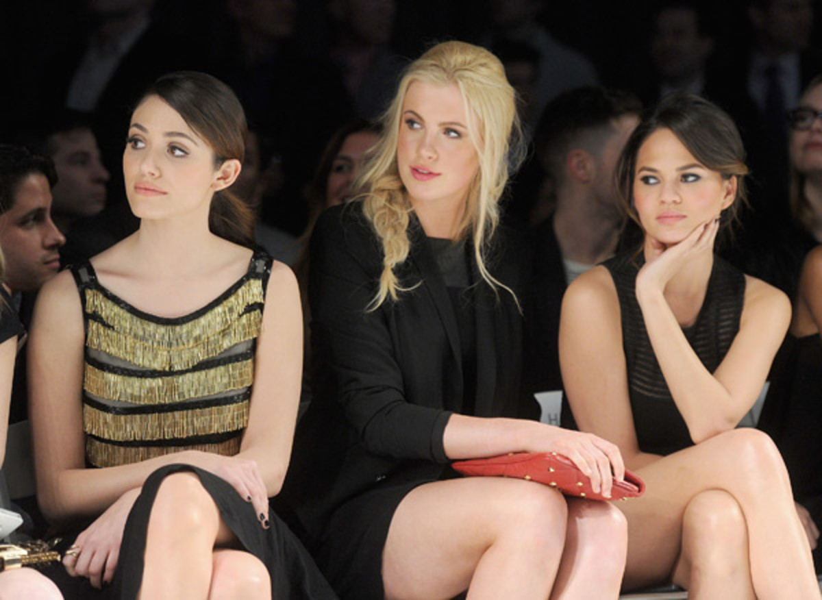 Emmy Rossum, Ireland Baldwin and Chrissy Teigen at Fashion Cares