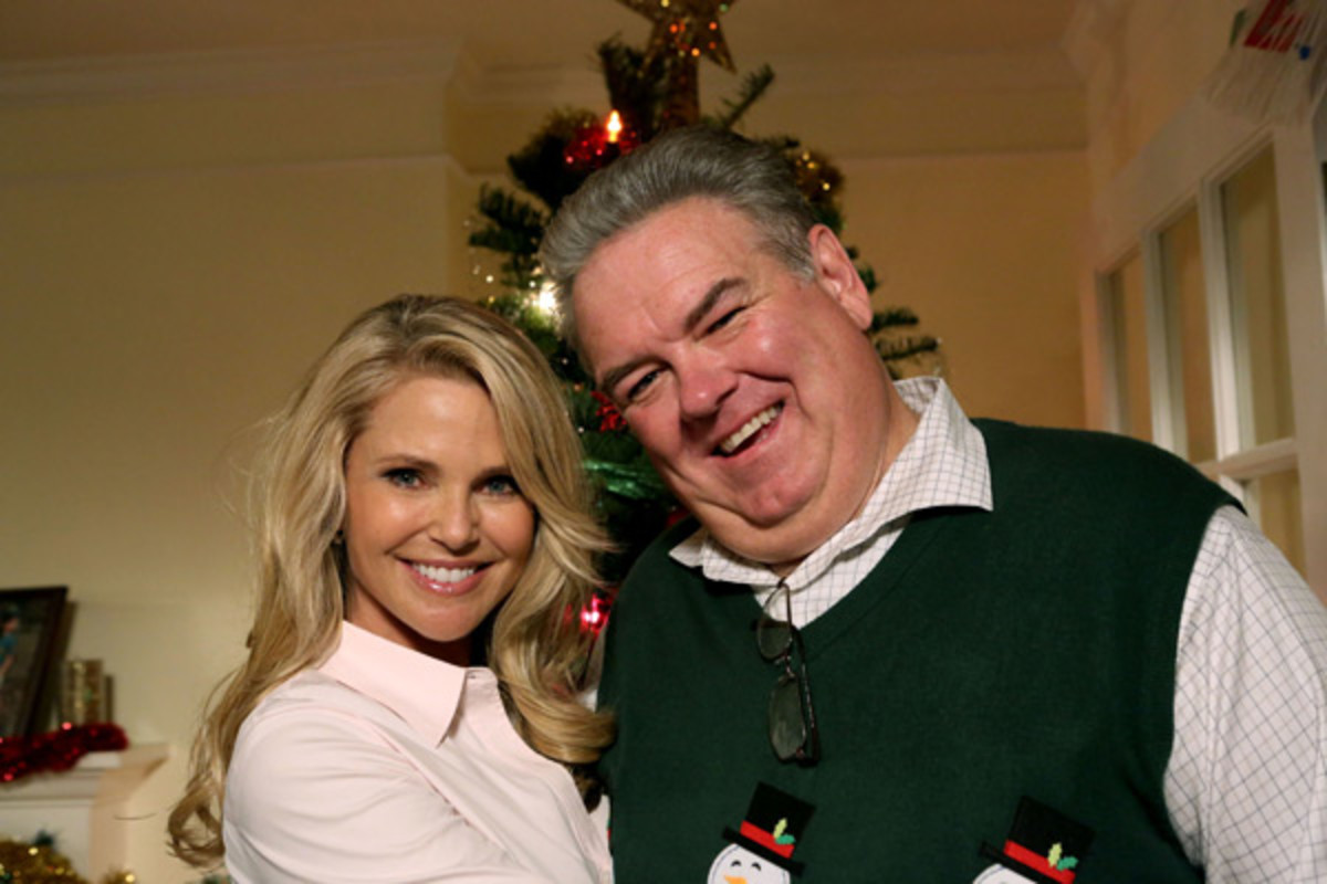 (Parks and Recreation)  Christie Brinkley and Jim O'Heir :: NBC/Getty Images