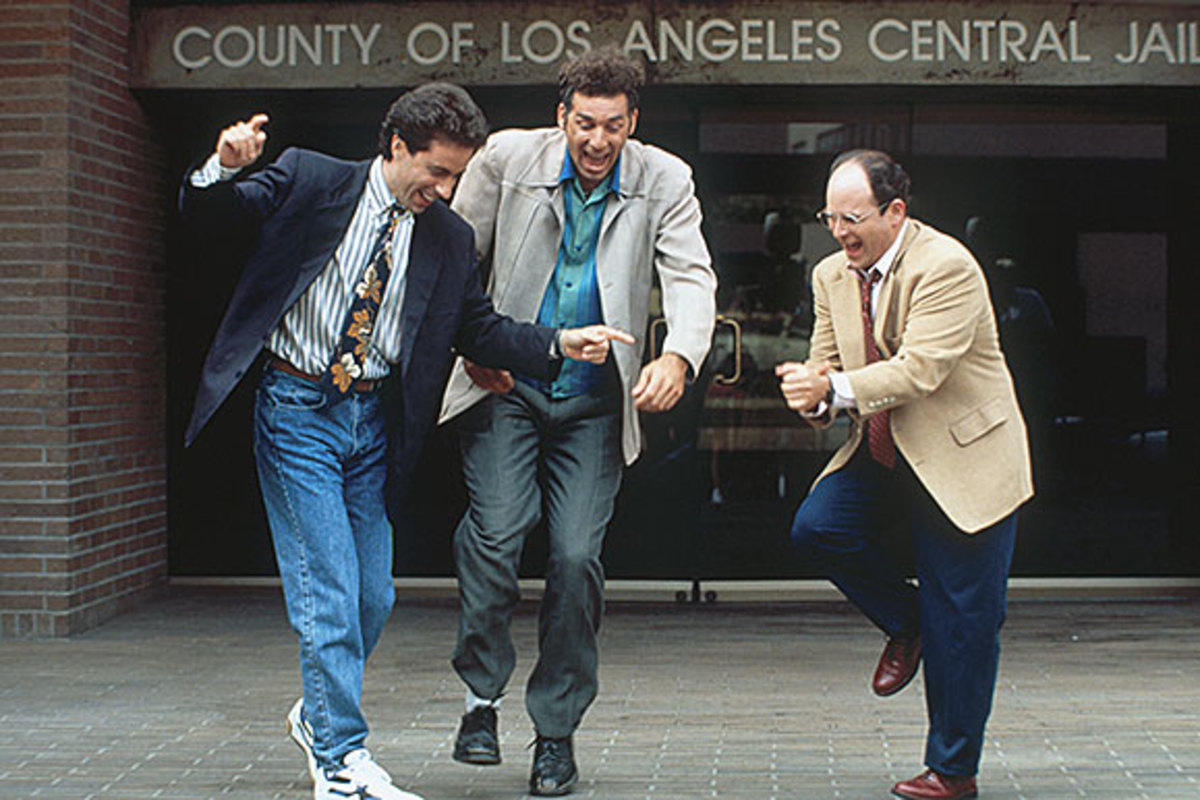 Jerry Seinfeld, Michael Richards and Jason Alexander