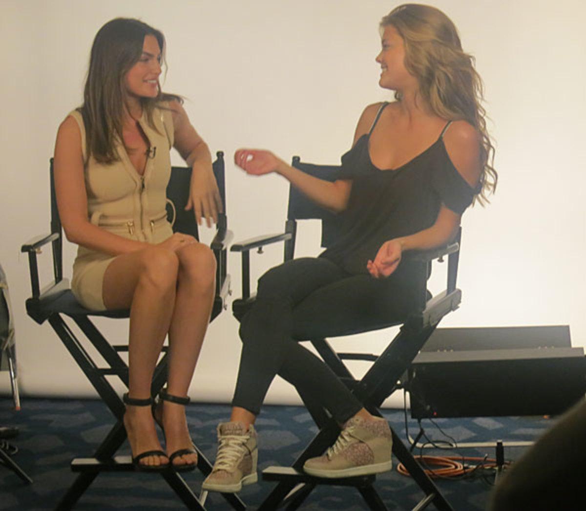 Alyssa Miller and Nina Agdal :: Andy Gray/SI
